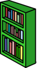 Green Bookcase sprite 007