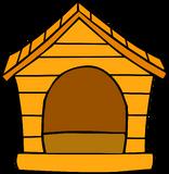 Orange Puffle House