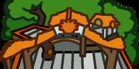 Orange Puffle Tree House