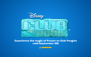 Frozen Fever Party 2016 logo screen