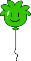 Green Puffle Balloon icon
