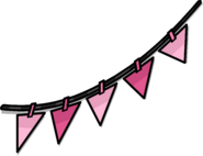 Pink Triangle Pennants sprite 002