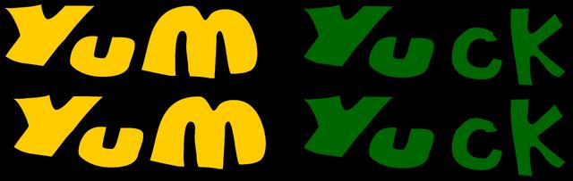 File:Yum Yum Yuck Yuck Logo.png