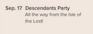 Newspaper Issue 515 Descendants Party