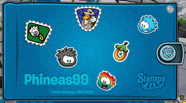 File:Puffle Party Stamp.png