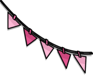Pink Triangle Pennants sprite 003