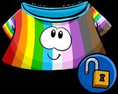 Rainbow Puffle Shirt icon