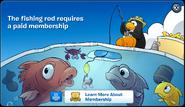 Fishing Rod Membership Error