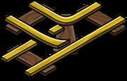 Gold Railroad Intersection sprite 001