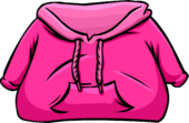 Pink Hoodie clothing icon ID 222