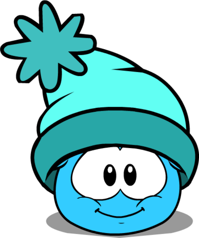 File:Turquoise Toque in Puffle Interface.png