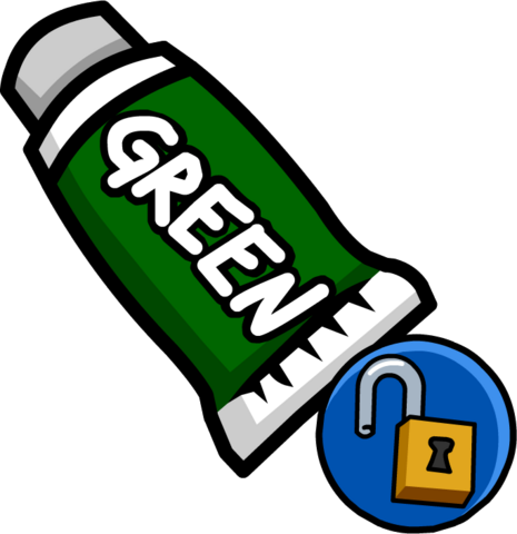 File:Green Face Paint (Unlockable 2).png