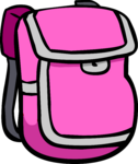 Pink Backpack clothing icon ID 314