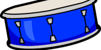Blue Snare Drum