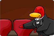 Theater escort penguin
