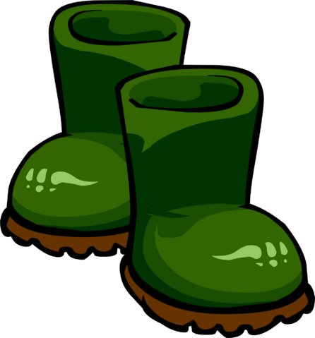 File:Green Rubber Boots.PNG