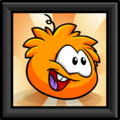 Orange Puffle Picture furniture icon