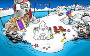Puffle Party 2012 Beach