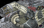 Star Wars Takeover Millenium Falcon