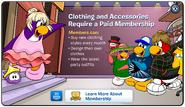 Clothes Membership Error