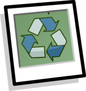 Recycle Decal Background icon