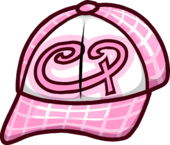 Pink Skater Hat icon