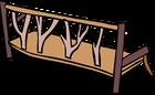 Log Bench sprite 006