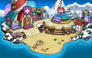 Puffle Party 2014 Beach