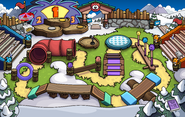 Puffle Party 2016 Ice Rink