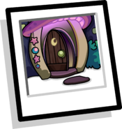 Wizard's Workshop Background icon (open door)
