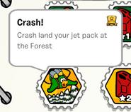 Crash! stamp book