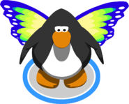 Green Butterfly Wings in-game