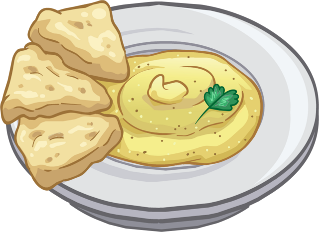 File:Hummus and Pita Puffle Food.png