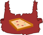 Caveguin Pizza Apron icon