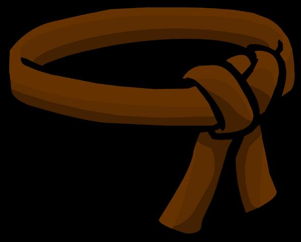 File:Brown Ninja Belt icon.png