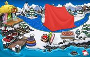 Club Penguin Island Party Dock