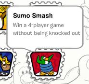Sumo smash stamp book