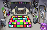 Puffle Party 2010 construction Night Club