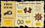 Rockhopper's Rare Items April 2007