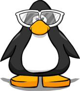 Giant White Sunglasses PC