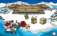 Music Jam 2009 construction Dock