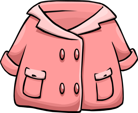 File:Pink Duffle Coat.PNG
