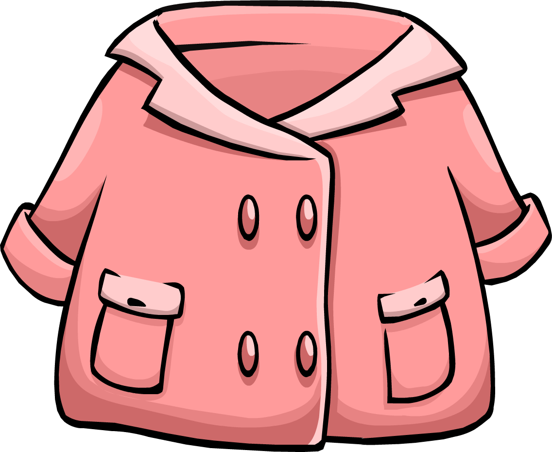 Pink Duffle Coat | Club Penguin Wiki | Fandom powered by Wikia