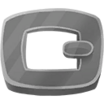 Decal Buckle Silver icon