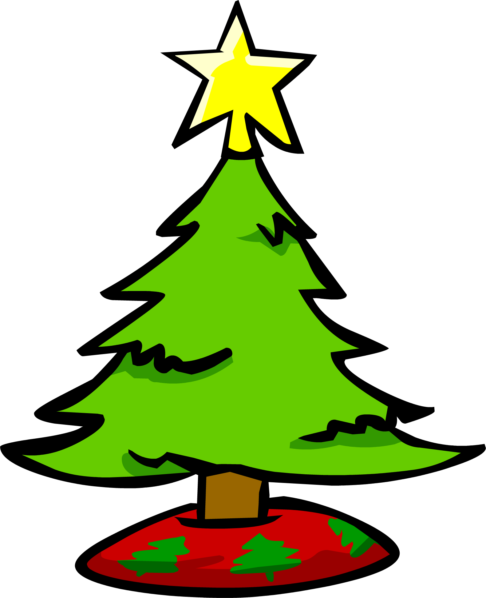 small christmas tree club penguin wiki fandom powered by wikia - Small Christmas Tree