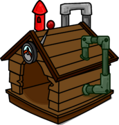 Brown Puffle House ID 665 sprite 002