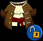 Captain's Coat clothing icon ID 10295