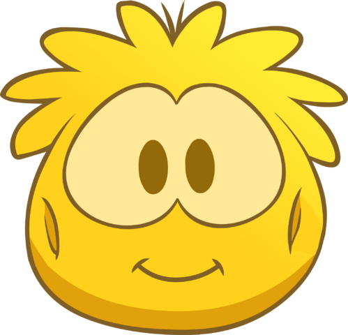 File:Gold Puffle Costume icon.png