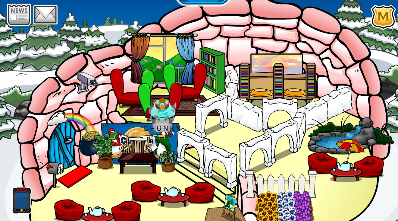 Pookie Day Care Igloos Club Penguin Pookie Wiki Fandom