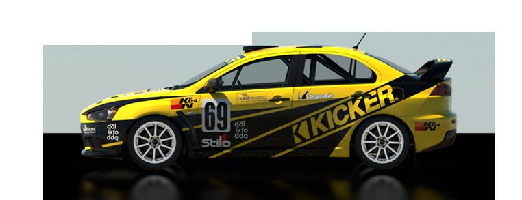 DiRT Rally Mitsubishi Lancer Evolution X